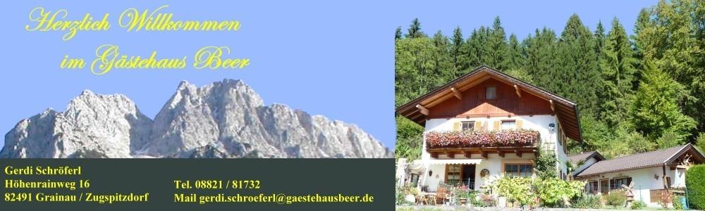 Gästehaus Beer Grainau Zugspitzdorf